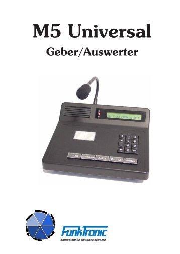 M5 Universal Geber/Auswerter - Funktronic