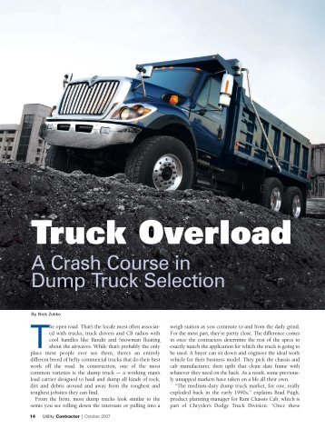 cover story - Utility Contractor Online