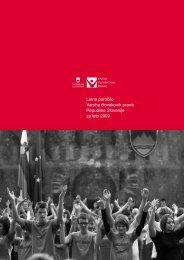 Letno poročilo Varuha človekovih pravic za leto 2009