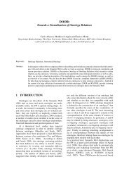Towards a Formalization of Ontology Relations - Watson - The Open ...