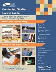 Continuing Studies Course Guide - Southern Maine Community ...