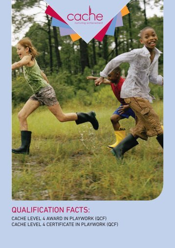 CACHE Level 4 Certificate in Playwork (QCF)