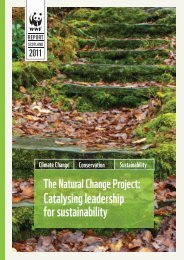 The Natural Change Report - WWF UK