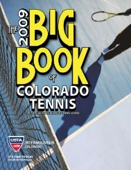 ITLS TIME TO PLAY - the Colorado Tennis Association