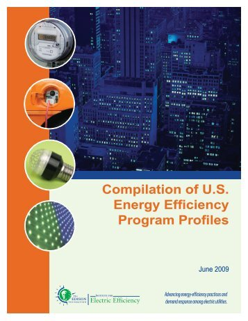 Compilation of U.S. Energy Efficiency Program Profiles - Institute for ...