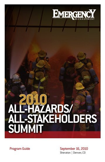 All-HAzArds/ All-stAkeHolders summit - Navigator