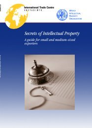 Secrets of Intellectual Property: A Guide for Small and ... - WIPO