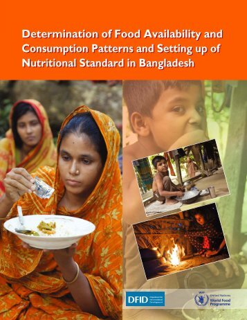 Determination of Food Availability and - United Nations in Bangladesh