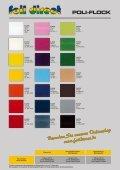 Farbkarte POLI-FLEX und POLI-FLOCK - foil direct® Gmbh - Seite 5