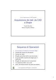 Conversione da CAD a Shape