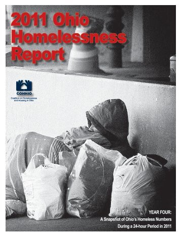 2011 Ohio Homelessness Report - cohhio