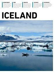 ADVENTUROUS pure CREATIVE CULTURAL ... - Iceland