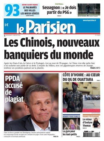 PPDA accusé de plagiat - Pierrefitte Socialiste