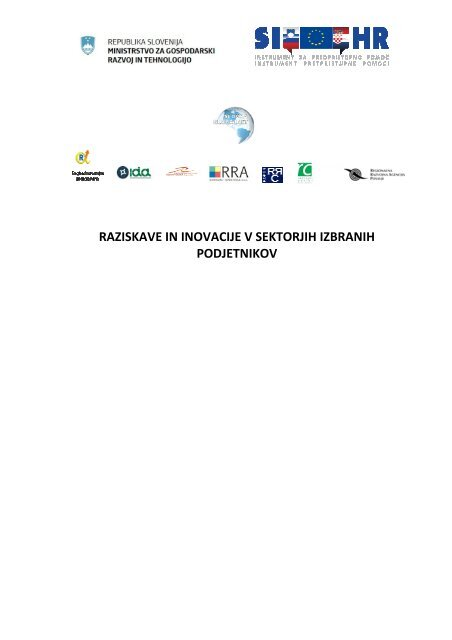 raziskave in inovacije v sektorjih izbranih podjetnikov - IDA