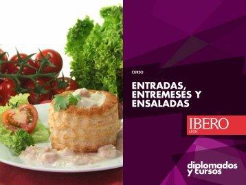 entradas, entremeses y ensaladas - Universidad Iberoamericana León