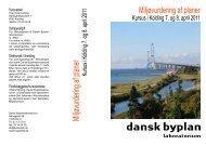 Miljøvurdering af planer - Dansk Byplanlaboratorium