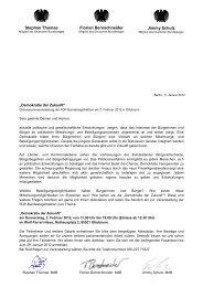 Einladung zur Diskussionsveranstaltung ... - FDP-Bundestagsfraktion