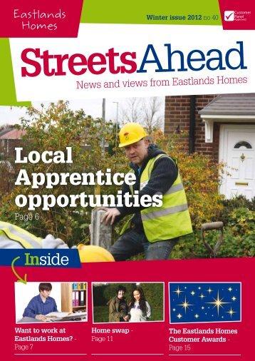 Eastlands Homes Newsletter issue 40
