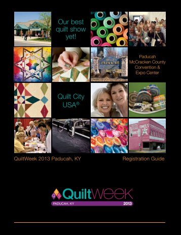Our best quilt show yet! - AQS QuiltWeek™ American Quilter's ...