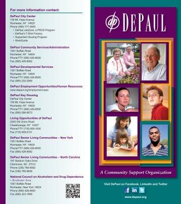 DePaul General Brochure - 2012.indd