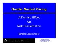 Gender Neutral Pricing