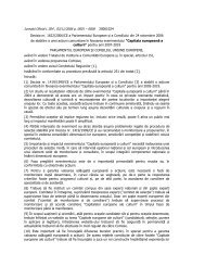 Decizia 1622 din 2006 a CE privind Capitala Culturala Europeana