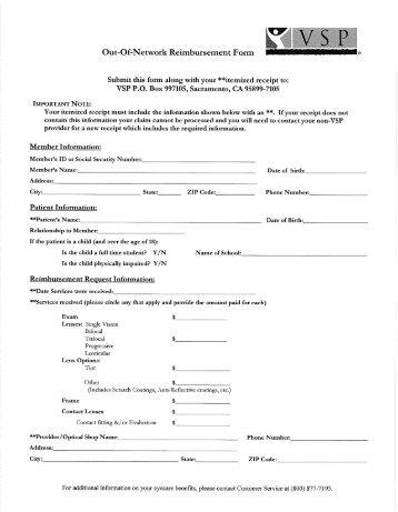 CIGNA Out of Network Claim Form - Wesleyan University