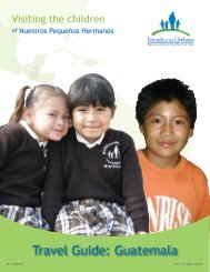 Travel Guide: Guatemala - Friends of the Orphans