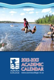 2012-2013 AcAdemic cAlendAr