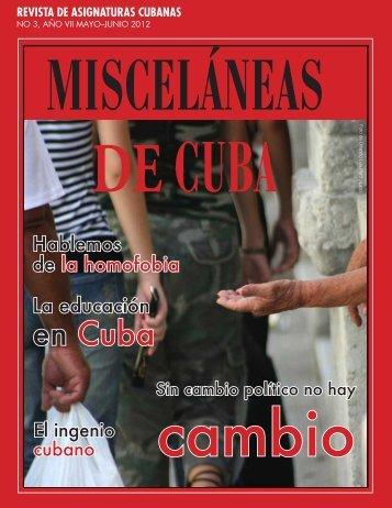 en Cuba - Misceláneas de Cuba