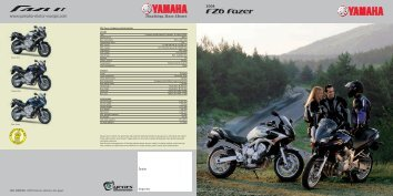 FZ6 Fazer - Yamaha Miskolc