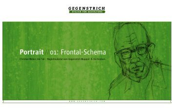 Portrait //01: Frontal-Schema