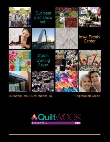 Des Moines 2013 - AQS QuiltWeek™ American Quilter's Society ...