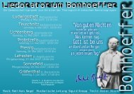 Bonnhoeffer Flyer