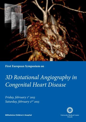 3D Rotational Angiography in Congenital Heart Disease - Utrecht ...