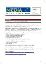 Lettre n°194 du 17 février 2012 - Media - Fédération Wallonie ...