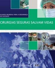 CIRURGIAS SEGURAS SALVAM VIDAS