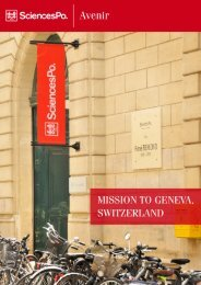 General overview - Sciences Po