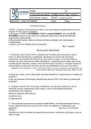 História - Instituto Padre Machado