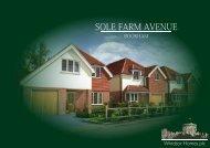 SOLE FARM AVENUE - Windsor Homes plc