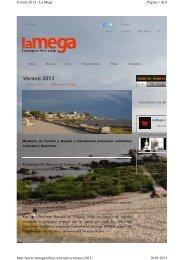 02-01-2013 - La Mega - Programa EcoPlata