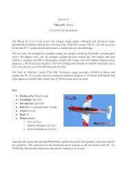 Review of Pilatus PC-21 v1.1 Created by Iris ... - Rays Aviation