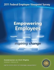 Fedview AES Report - U.S. Commission on Civil Rights