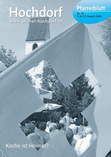 Hochdorf Hochdorf - Pfarrei Hochdorf