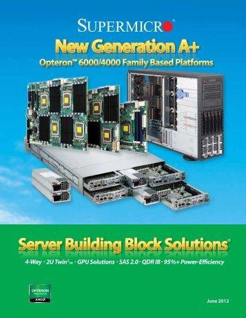 Supermicro Server Building Block Brochure - Avnet