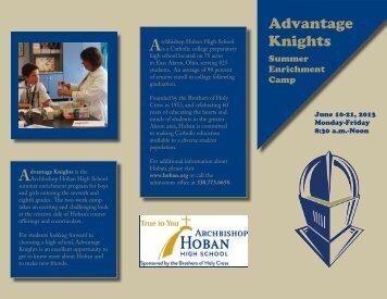 Advantage Knights - Archbishop Hoban High School