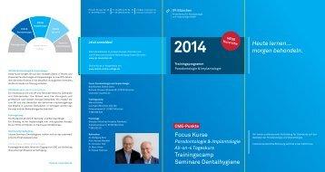 2. Download Kursprogramm Übersicht - Dental Online College