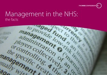 Management in the NHS