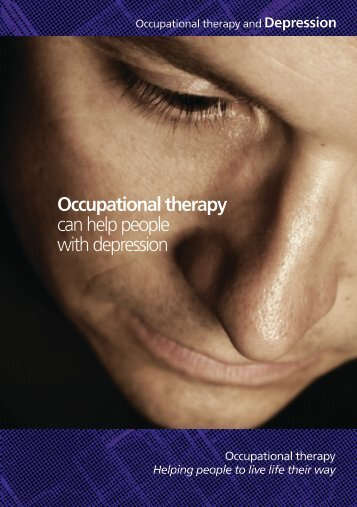 working y ir way - College of Occupational Therapists