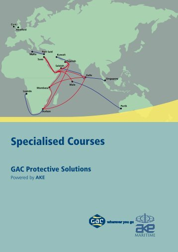 Specialised Courses - GAC